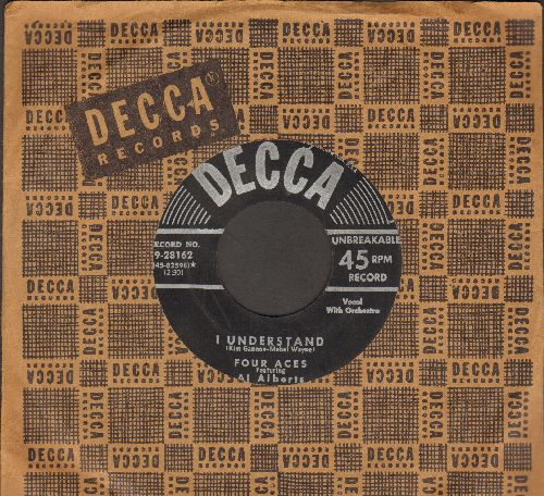 Four Aces - I Understand/I'm Yours (with vintage Decca company sleeve) - EX8/ - 45 rpm Records