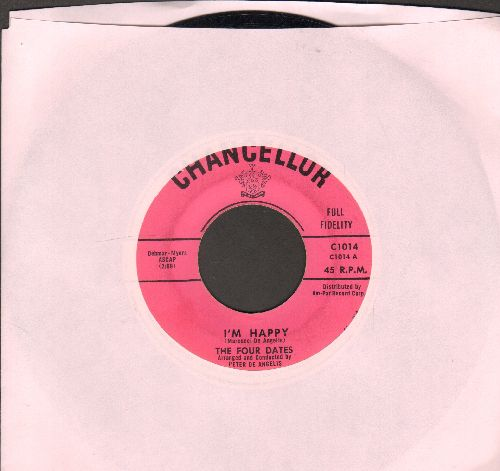Four Dates - Eloise/I'm Happy - VG7/ - 45 rpm Records