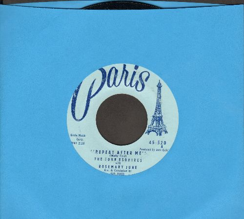 June, Rosemary - Repeat After Me/Hideaway - VG7/ - 45 rpm Records