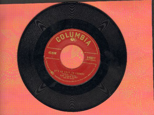 Four Lads - It's So Easy To Forget/Who Needs You  - EX8/ - 45 rpm Records