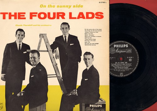 Four Lads - On The Sunny Side: The Things We Did Last Summer, Makin' Whoopee, Sentimental Journey, Side By Side (Vinyl MONO LP record, Dutch Pressing) - EX8/EX8 - LP Records