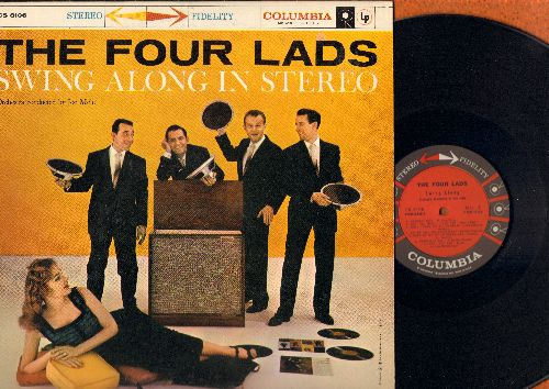 Four Lads - Swing Along In Stereo: Swanee River, Moonlight Bay, When I Grow Too Old To Dream, Let Me Call You Sweetheart (Vinyl STEREO LP record) - NM9/NM9 - LP Records