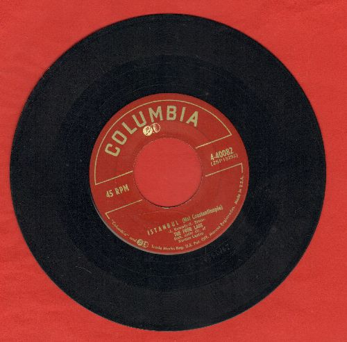 Four Lads - Istanbul (Not Constantinople)/I Should Have Told You Long Ago - VG7/ - 45 rpm Records