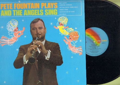 Fountain, Pete - Pete Fountain Plays And The Angels Sing: Get Happy, Corrine Corrina, Angel Eyes, Georgia On My Mind (vinyl LP record) - NM9/NM9 - LP Records
