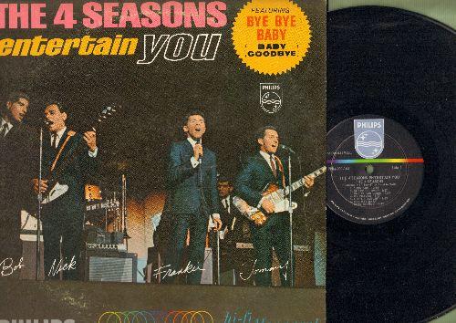 Four Seasons - The 4 Seasons Entertain You: Toy Soldier, Bye Bye Baby, Little Darlin', Somewhere, Big Man In Town (Vinyl MONO LP record) - NM9/EX8 - LP Records