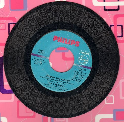 Four Seasons - Around And Around/Lonesome Road (bb) - EX8/ - 45 rpm Records