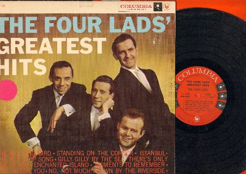 Four Lads - The Four Lad's Greatest Hits: The Mocking Bird, Standing On The Corner, Istanbul, The Bus Stop Song, Enchanted Island, No Not Much (Vinyl MONO LP record) - EX8/EX8 - LP Records
