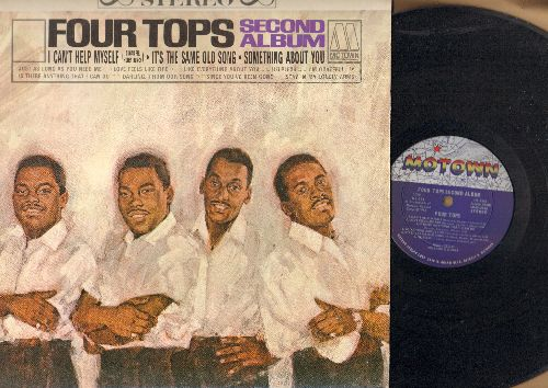 Four Tops - Second Album: I Can't Help Myself, It's The Same Old Song, Since You've Been Gone (vinyl STEREO LP record) - NM9/EX8 - LP Records