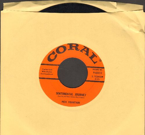 Fountain, Pete - Sentimental Journey/Columbus Stockade Blues  - NM9/ - 45 rpm Records