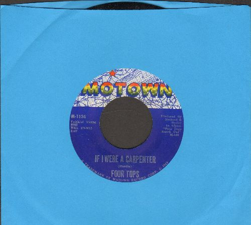 Four Tops - If I Were A Carpenter/Wonderful Baby  - NM9/ - 45 rpm Records