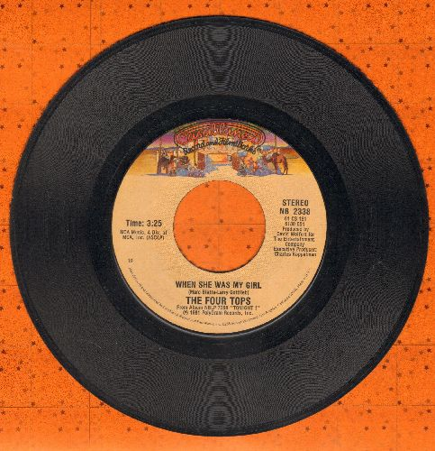 Four Tops - When She Was My Girl/Something To Remember - NM9/ - 45 rpm Records