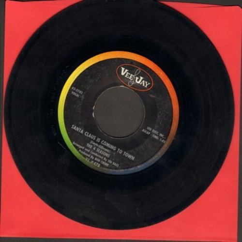 Four Seasons - Santa Claus Is Coming To Town/Christmas Tears - VG7/ - 45 rpm Records