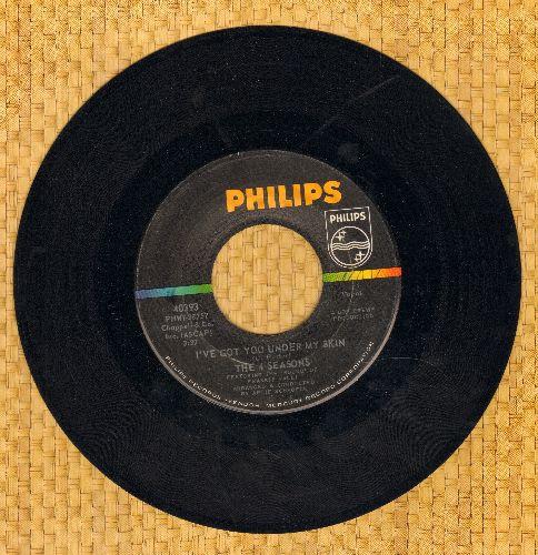 Four Seasons - I've Got You Under My Skin/Huggin' My Pillow - EX8/ - 45 rpm Records