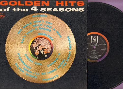 Four Seasons - Golden Hits: Sherry, Big Girls Don't Cry, Walk Like A Man, Peanuts, Ain't That A Shame (Vinyl MONO LP record) - EX8/EX8 - LP Records