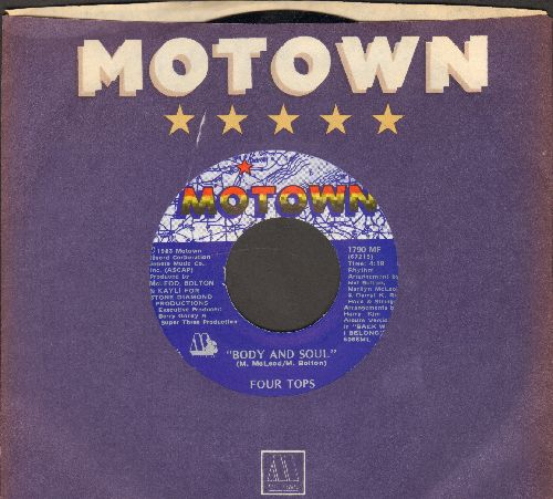 Four Tops - Body And Soul/Sexy Ways (with Motown company sleeve) - NM9/ - 45 rpm Records