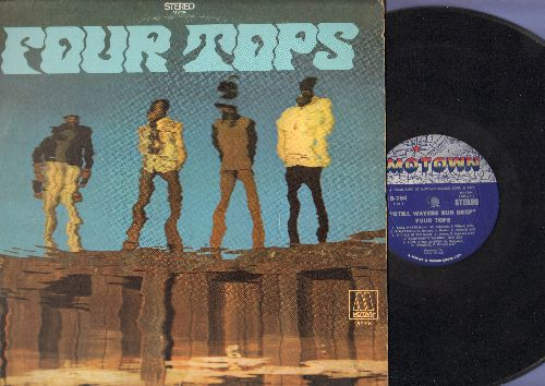 Four Tops - Still Waters Run Deep: It's All In The Game, Elusive Butterfly, Reflections, Still Water (Love) (Vinyl STEREO LP record) - VG7/EX8 - LP Records