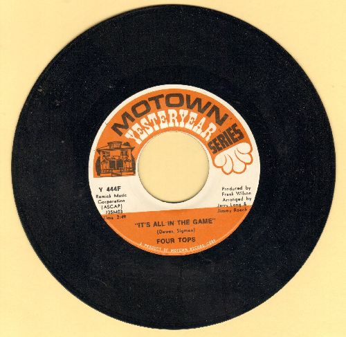 Four Tops - It's All In The Game/Still Water (Love) (double-hit re-issue) - NM9/ - 45 rpm Records
