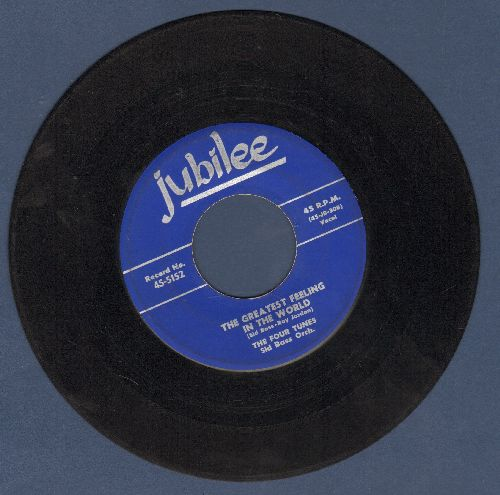 Four Tunes - Lonesome/The Greatest Feeling In The World - VG7/ - 45 rpm Records