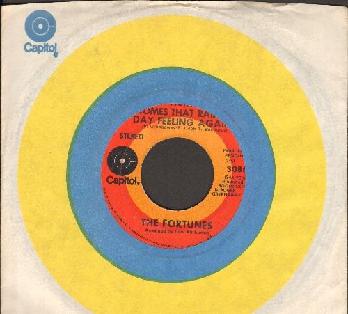 Fortunes - Here Comes That Rainy Day Feeling Again/I Gotta Dream (with Capitol company sleeve) - VG7/ - 45 rpm Records
