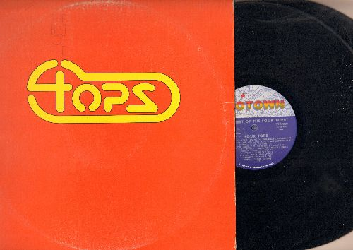 Four Tops - The Best Of The Four Tops: Baby I Need Your Loving, I Can't Help Myself, It's The Same Old Song, Walk Away Renee, Bernadette, Reach Out I'll Be There (2 vinyl STEREO LP records) - EX8/VG7 - LP Records