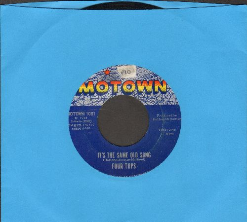 Four Tops - It's The Same Old Song/Your Love Is Amazing (ssol) - EX8/ - 45 rpm Records