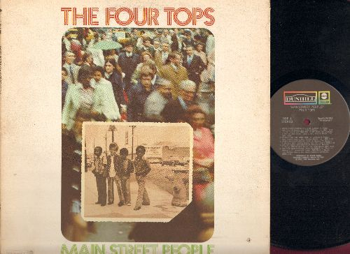 Four Tops - Main Street People: Are You Man Enough, Am I My Brother's Keeper, Peace Of Mind, Too Little Too Late (Vinyl STEREO LP record, gate-fold cover) (bb) - NM9/VG7 - LP Records