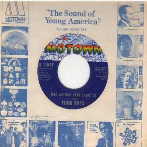 Four Tops - Mac Arthur Park (Parts 1 + 2) (with Motown company sleeve) - VG7/ - 45 rpm Records