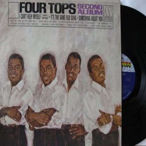 Four Tops - Yesterday's Dreams: We've Got A Strong Love (On Our Side), Sunny, Never My Love, Daydream Believer, Once Upon A Time, A Place In The Sun, Remember When (Vinyl STEREO LP record) - EX8/VG7 - LP Records