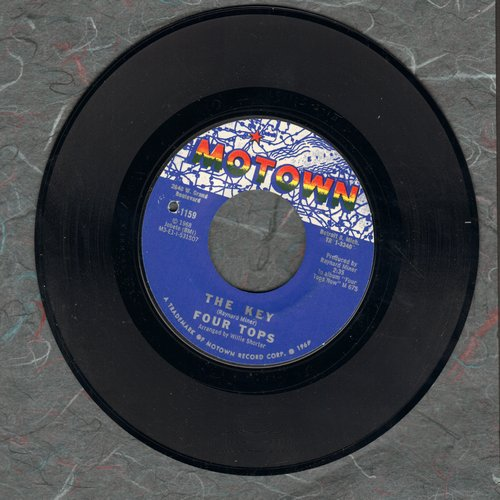 Four Tops - The Key/Don't Let Him Take Your Love From Me (bb) - NM9/ - 45 rpm Records