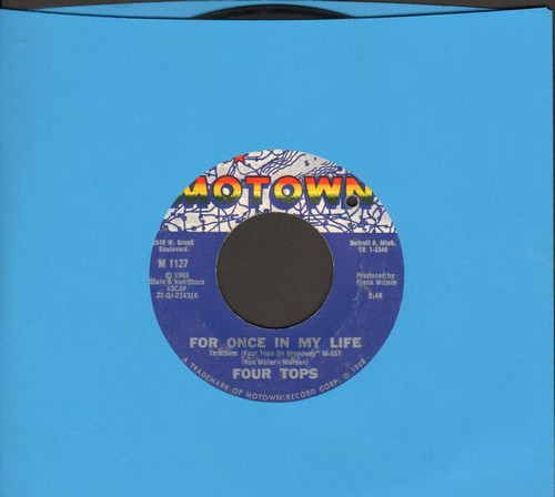Four Tops - For Once In My Life/Yesterday's Dreams (bb) - EX8/ - 45 rpm Records