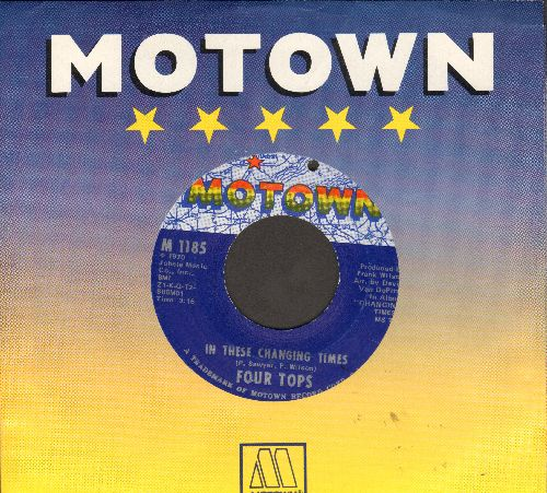 Four Tops - In These Changing Times/Right Before My Eyes (bb) - EX8/ - 45 rpm Records