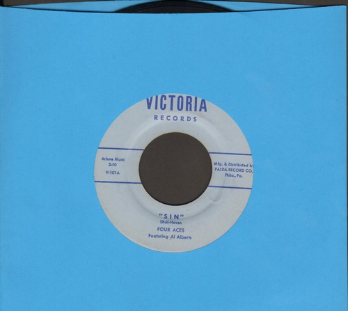 Four Aces - Sin/Arizona Moon - NM9/ - 45 rpm Records