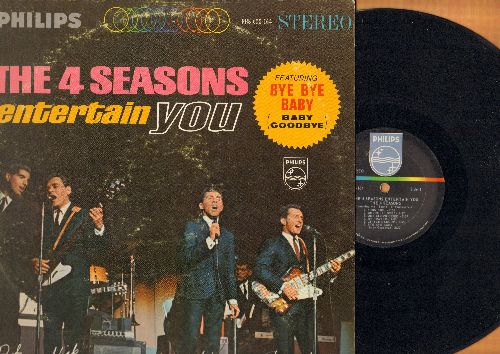Four Seasons - The 4 Seasons Entertain You: Toy Soldier, Bye Bye Baby, Little Darlin', Somewhere, Big Man In Town (Vinyl STEREO LP record) - VG7/VG7 - LP Records