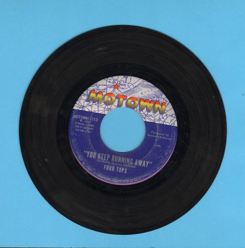 Four Tops - You Keep Running Away/If You Don't Want My Love - VG7/ - 45 rpm Records