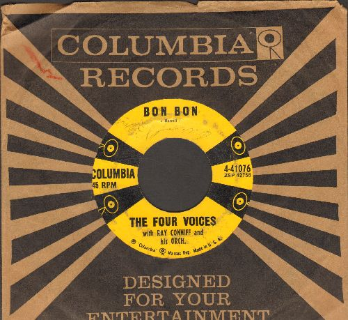 Four Voices - Bon Bon/Dancing With My Shadow (with Columbia company sleeve) - VG7/ - 45 rpm Records