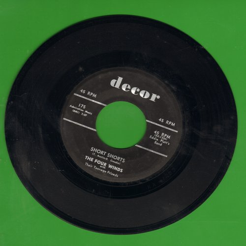 Four Winds - Short Shorts (Who Wears Short Shorts?)/Five Minutes More (NICE condition!) - EX8/ - 45 rpm Records