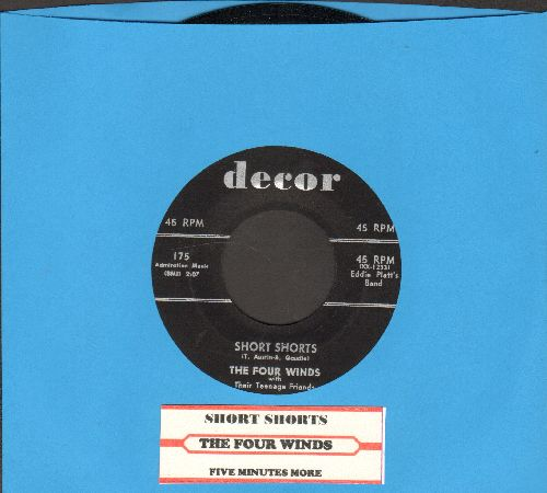 Four Winds - Short Shorts (Who Wears Short Shorts?)/Five Minutes More (NICE condition!) - NM9/ - 45 rpm Records