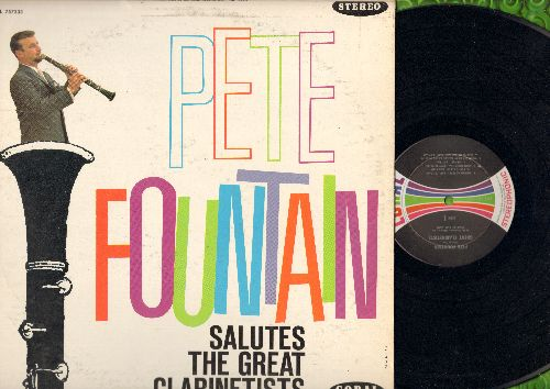 Fountain, Pete - Salutes The Great Clarinetists: Petit Fleur, Frenesi, Begin The Beguine, My Inspiration, Amapola (vinyl STEREO LP record) - NM9/VG7 - LP Records