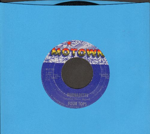Four Tops - Bernadette/I Got A Feeling  - VG7/ - 45 rpm Records