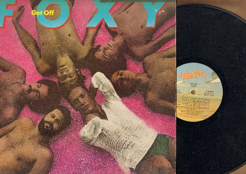 Foxy - Get Off: Tena's Song, Ready For Love, Mademoiselle, Lucky Me, It's Happening (Vinyl STEREO LP record) - VG7/VG7 - LP Records