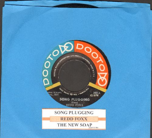 Foxx, Redd - Song Plugging/The New Soap (with juke box label) - NM9/ - 45 rpm Records