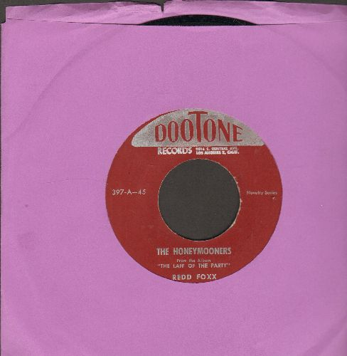 Foxx, Redd - The Honeymooners/The Sneezes (from his Stag party album -The Laff Of The Party-) - NM9/ - 45 rpm Records
