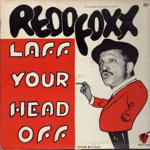 Foxx, Redd - Laff Your Head Off - With Redd Foxx (Vinyl LP record) - EX8/EX8 - LP Records