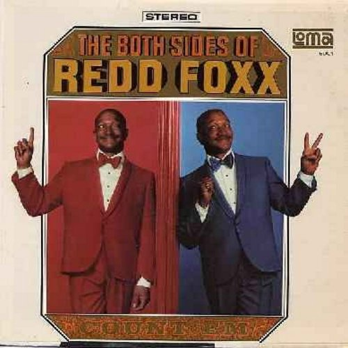 Foxx, Redd - The Both Sides Of: Recorded LIVE…His All-New, Hlarious Hollywood Concert! (Vinyl STEREO LP record) - EX8/EX8 - LP Records