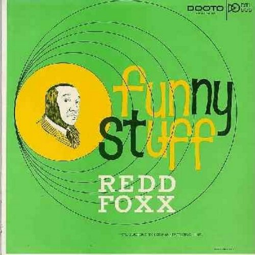 Foxx, Redd - Funny Stuff - Another set of hilarious observational humor by the Master of the Stag Parties (Vinyl MONO LP record, 1963 first issue) - EX8/EX8 - LP Records
