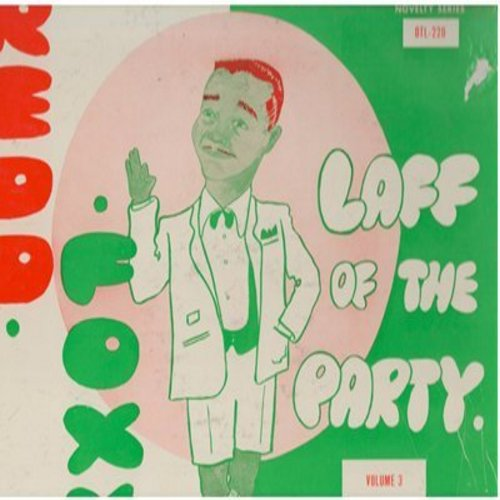 Foxx, Redd - Laff Of The Party - Volume 3: More stag party humor by the master! (Vinyl MONO LP record) - NM9/VG7 - LP Records