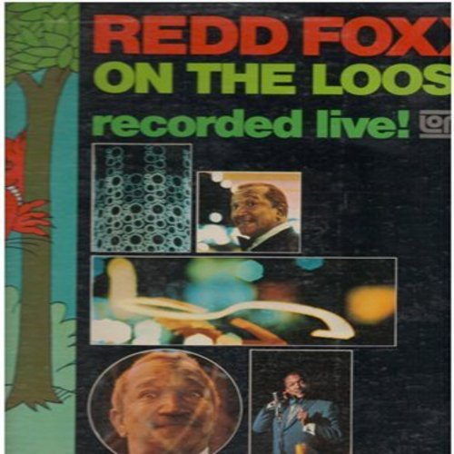 Foxx, Redd - Redd Foxx On The Loose - Recorded Live! (Vinyl LP record) - NM9/EX8 - LP Records