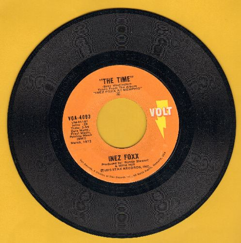 Foxx, Inez - The Time/One Woman's Man - NM9/ - 45 rpm Records