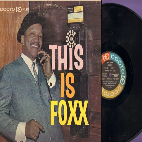 Foxx, Redd - This Is Foxx - More stag-party homor by the popular joke teller (Vinyl MONO LP record) - EX8/VG7 - LP Records