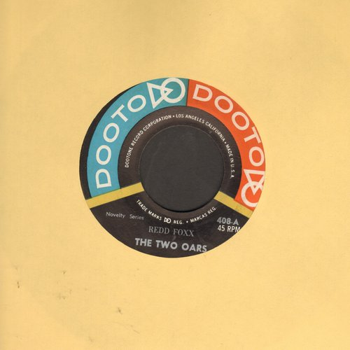 Foxx, Redd - The Two Oars/The Preacher's Bicycle - NM9/ - 45 rpm Records